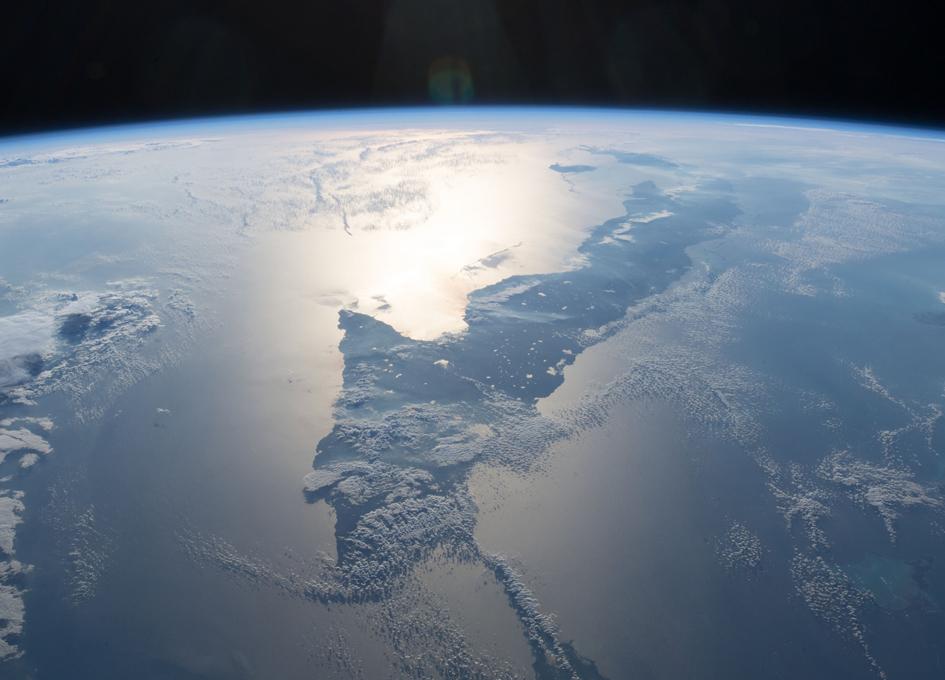 Cuba Seen From Orbit