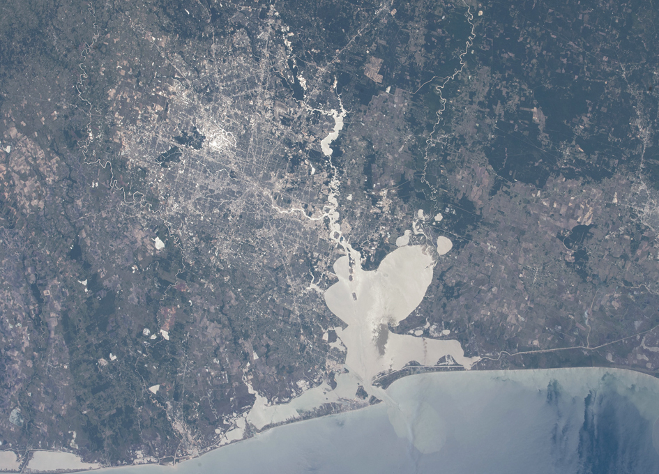 Houston As Seen From Orbit The Other Day