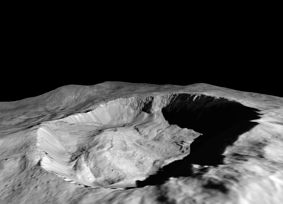 Dawn Reveals Recent Changes in Ceres' Surface