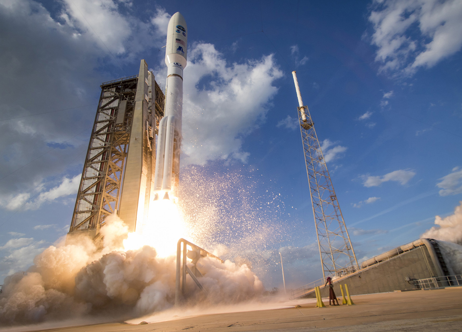 United Launch Alliance Launches GOES-S Weather Satellite for NASA and NOAA