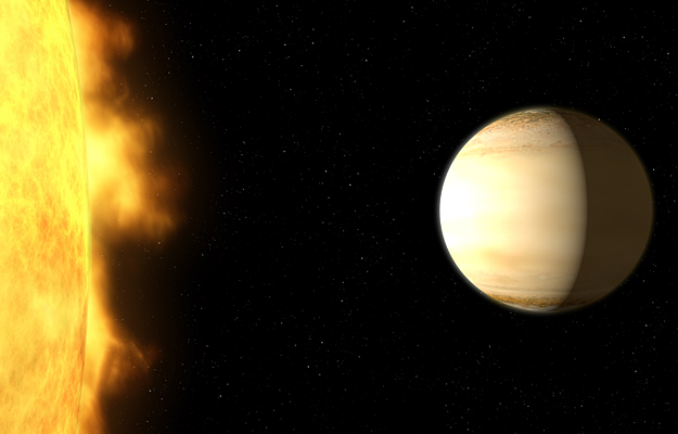 NASA Discovers Water Throughout a Saturn-Sized Exoplanet's Atmosphere