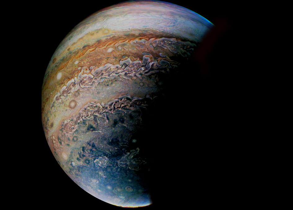 Jupiter's Atmospheric Beauty Is More Than Skin Deep