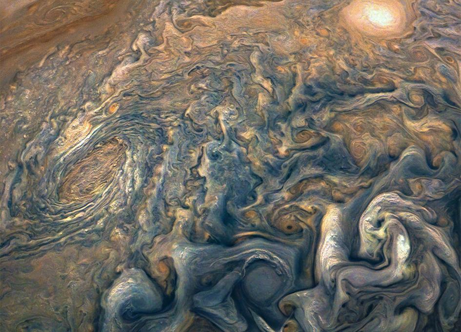 View stunning photos of Jupiter from NASA's Juno spacecraft