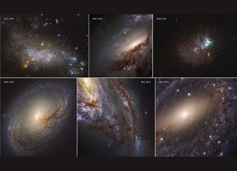 Ultraviolet-Light Survey of Nearby Galaxies Released ...