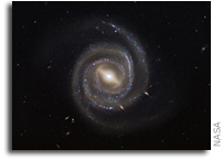 Hubble Views Active Barred Spiral Galaxy UGC 6093
