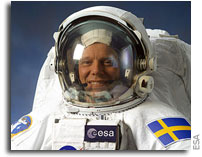 ESA's first Swedish astronaut to fly to the ISS