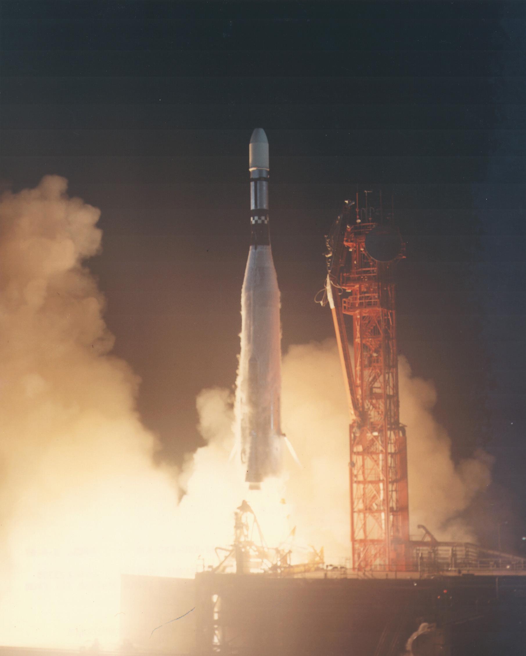 Image result for lunar orbiter 3 launch