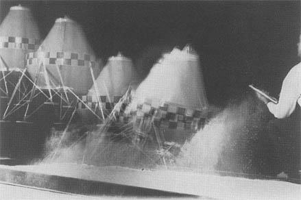Structural dynamics testing for lunar landing.