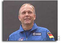 German ESA Astronaut Hans Schlegel chosen for the European Columbus mission to the ISS
