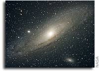 Andromeda's Stellar Halo Shows Galaxy's Origin to Be Similar to That of Milky Way