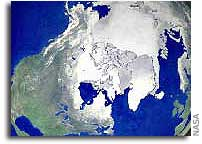 Satellites Show Arctic Literally on Thin Ice