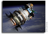 Spacehab Realigns Corporation - Company Positioned to Capture NASA COTS Business