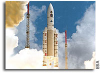 Ariane 5 ECA launched