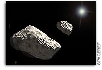 Study puts solar spin on asteroid moon formation