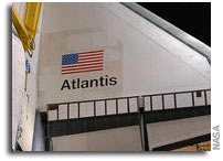 NASA's Space Shuttle Atlantis Prepares to Roll To Launch Pad