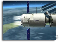 Raising the ISS: ATV Johannes Kepler conducts the 'Big Boost'