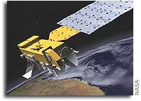 Northrop Grumman Navigation Aid Supplies Information to Help Stabilize Aura Satellite