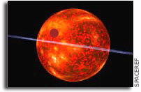 Not-Yet-Turned-On Star is Forming Jupiter-like Planet