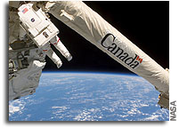 Celebrating 20 years of Canadians in Space