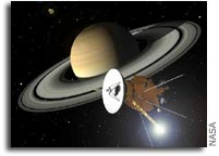 Cassini Spacecraft Enters Safe Mode