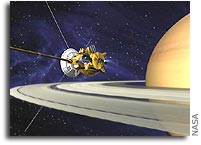 NASA Announces Saturn Mission Coverage