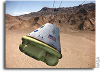 NASA LaRC Solicitation: Data for Propulsive Landing Systems for Earth Entry Capsules