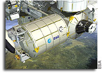 The European Columbus space laboratory set to reach ISS