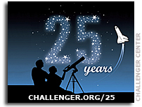 Media Avisory: From tragedy to triumph, Challenger Center commemorates silver anniversary