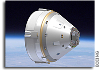 Boeing Completes Software Preliminary Design Review of Crew Space Transportation Spacecraft