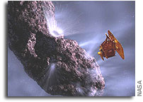 NASA Sets Deep Impact Launch Date