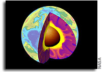 Radioactive potassium may be major heat source in Earth's core