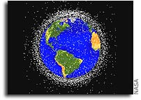 Mitigating Orbital Debris via Space Vehicle Disposals