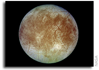 NASA Hosting Science Update about Jupiter's Icy Moon Europa