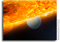 NASA Hubble Space Telescope Finds Carbon Dioxide on an Extrasolar Planet