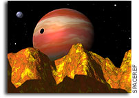 Computer Simulations Unveil The Exotic Weather on Distant Worlds