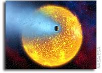 A Spectrum of an Extrasolar Planet
