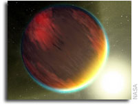 NASA's Spitzer First to Crack Open Light of Far Away Worlds