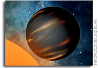 Absence of Water in Distant Planet's Atmosphere Surprises Astronomers
