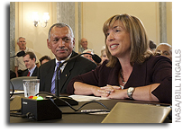 Bolden and Garver Confirmed By Senate for Top NASA Posts