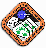 SpaceRef's Arthur Clarke Mars Greenhouse