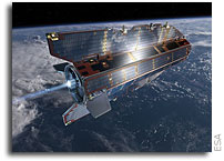 GOCE satellite determines gravitational force in the Himalayas
