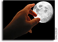 Touch the Moon in Nebraska This Month