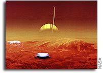Europe reaches new frontier - Huygens lands on Titan