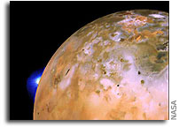Beware: Io Dust