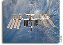 Papal call to the Space Station