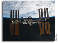 NASA ISS On-Orbit Status 8 October 2011