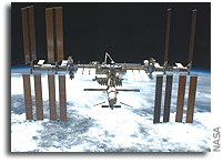 NASA ISS On-Orbit Status 25 December 2011