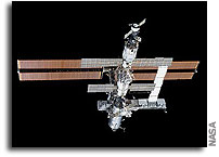Space Station Module Cooling Failure Forces ISS into