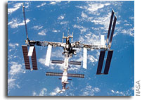 NASA Awards Contract for Space Station Hardware