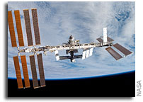 NASA ISS On-Orbit  Status 7 November 2008